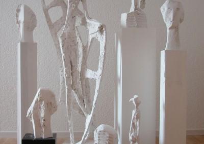 Skulpturen für die Weiterverarbeitung
